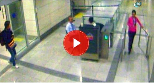 Havalimanında intihar eden gazetecinin son görüntüleri