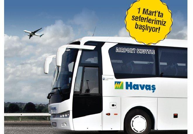 Havaş Mardin Havalimanı'nda otobüs seferlerine başlıyor!