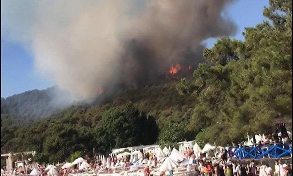 Heybeliada'da yangın