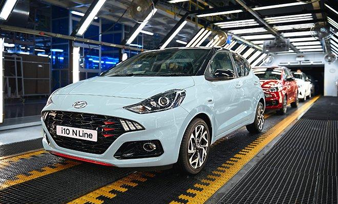 Hyundai Assan Yeni i10 N Line'ın Üretimine Başladı.