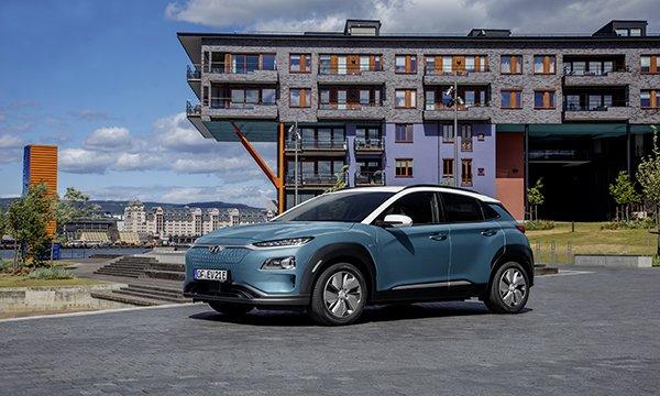 Hyundai KONA Electric Satışları Yüz Bini Aştı.