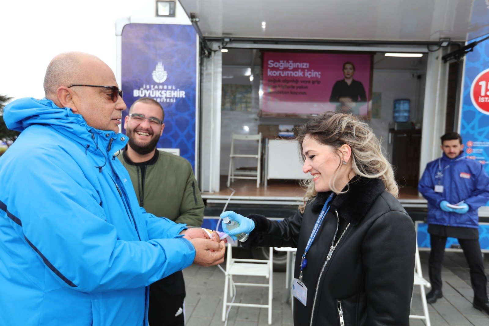 İBB'den vatandaşa Koronavirüs eğitimi