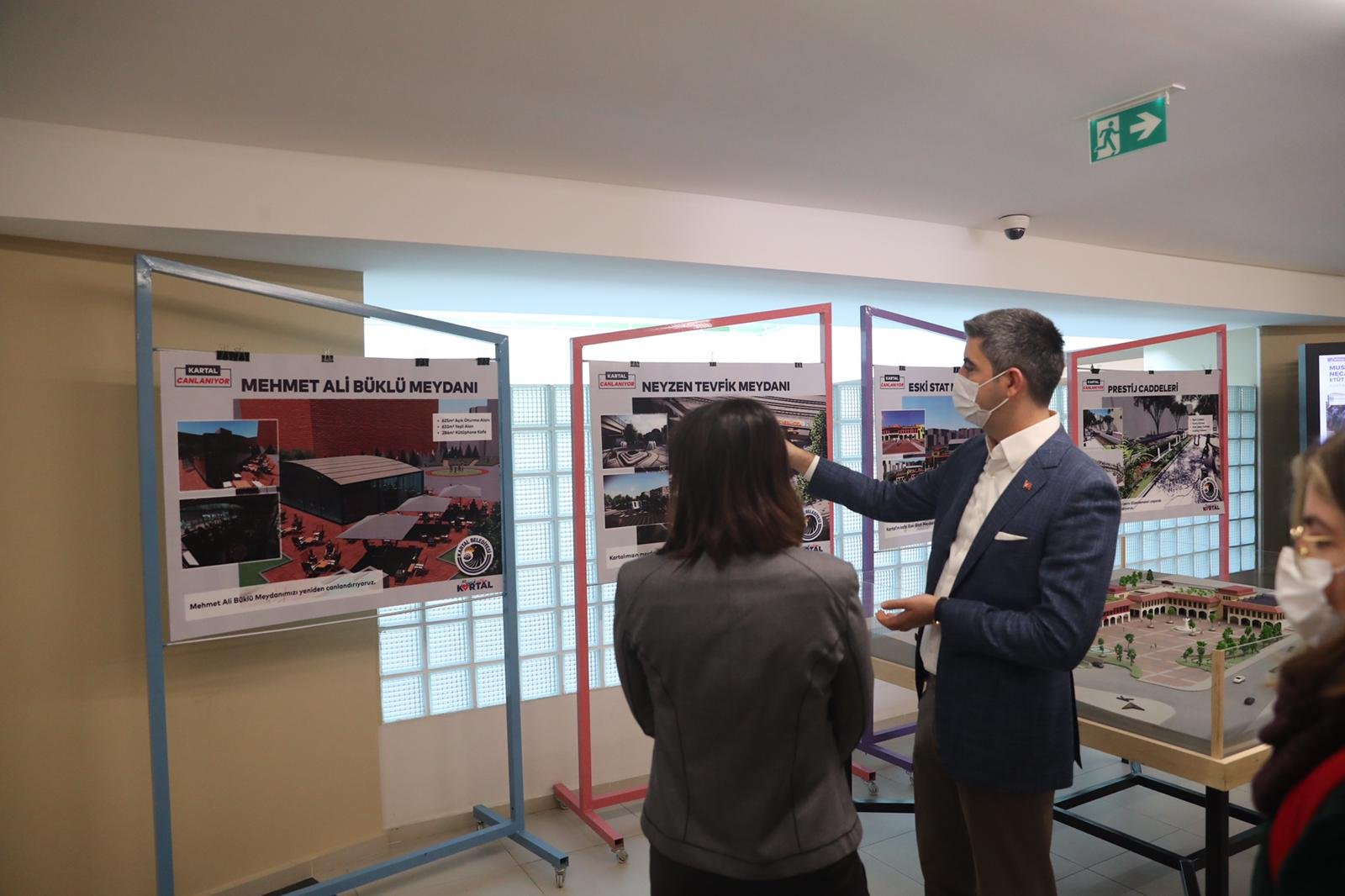 İBB'den Kartal'daki proje alanlarına ziyaret