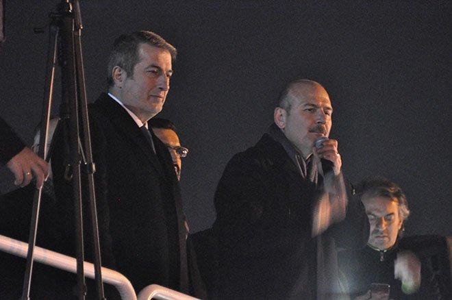 İçişleri Bakanı Süleyman Soylu'nun Sarıyer mitingi