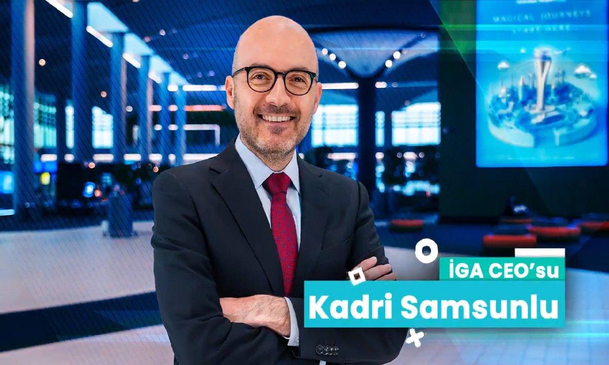 İGA CEO'su Samsunlu ile özel röportajı izleyin(video)