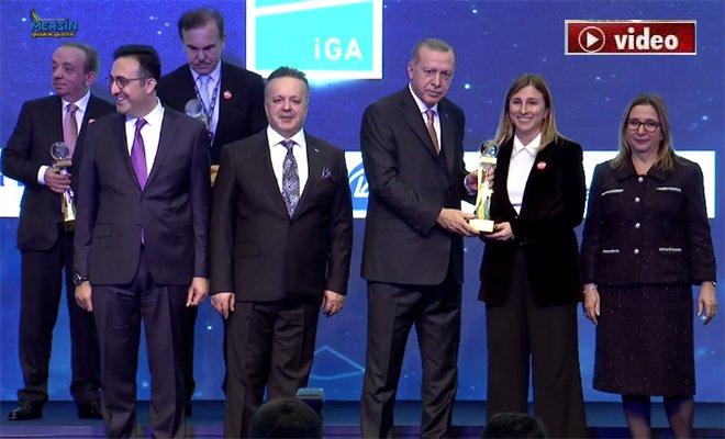İGA'da 5 firmaya onur ödülü verildi!video