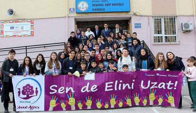 "İHLAS KOLEJİ ""UMUT AĞACI"" İLE KOCAELİ'NDE"