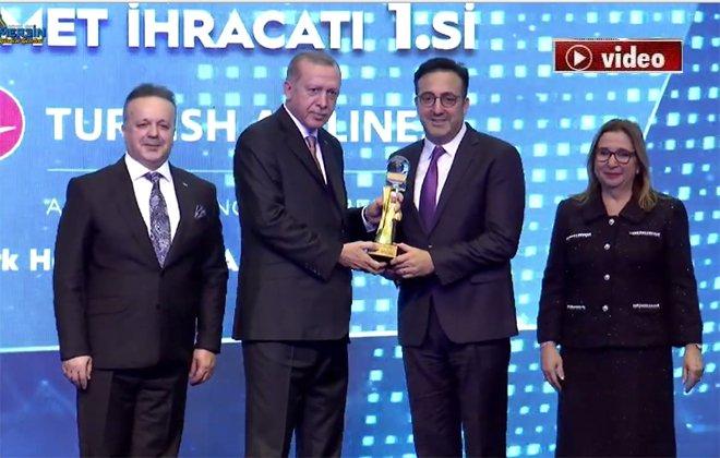 İlker Aycı ödülü Cumhurbaşkanı'nın elinden aldı!video