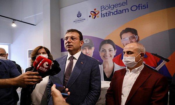 İmamoğlu:Kanal İstanbul'un karşısında dimdik duracağız