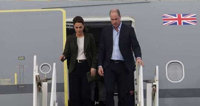 İngiltere Prensi Kıbrıs'ta