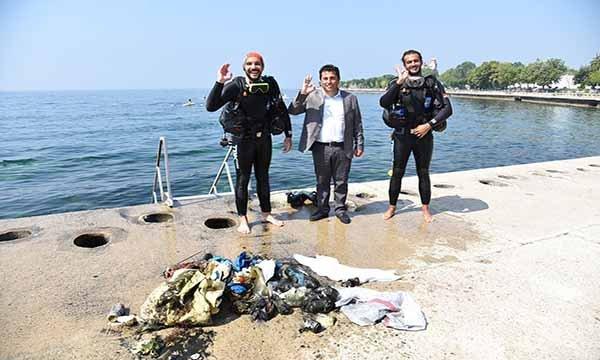 İnsansız deniz temizleme aracı Denizatı 'Doris'