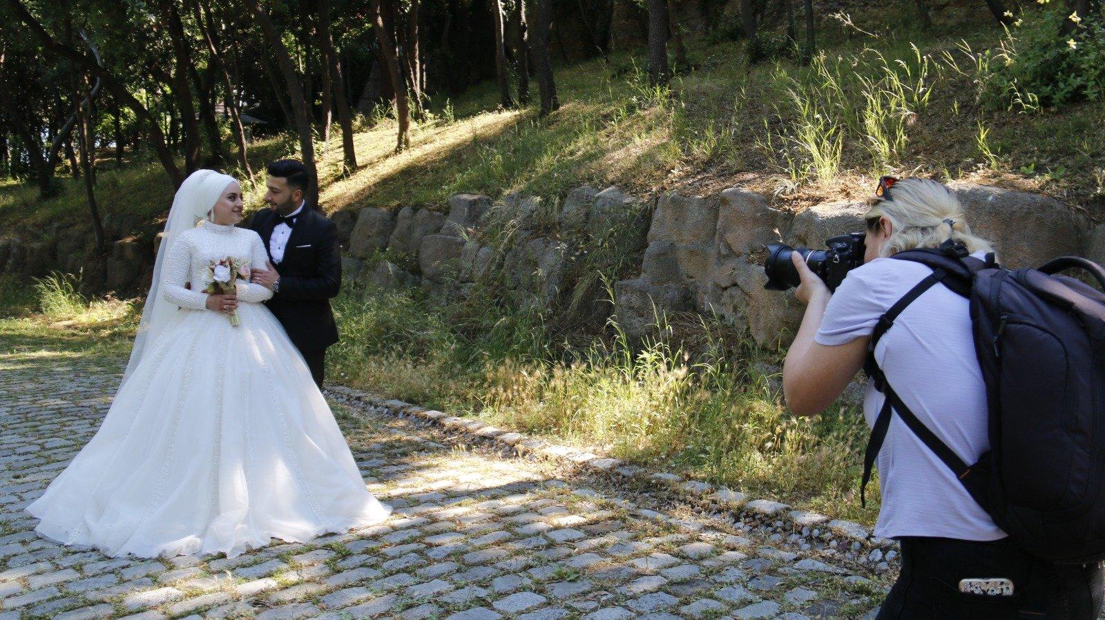İstanbul'da korsan fotoğrafçı denetimi…