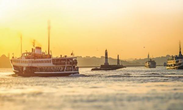 İstanbul'da vapurlar 5 kuruş oluyor