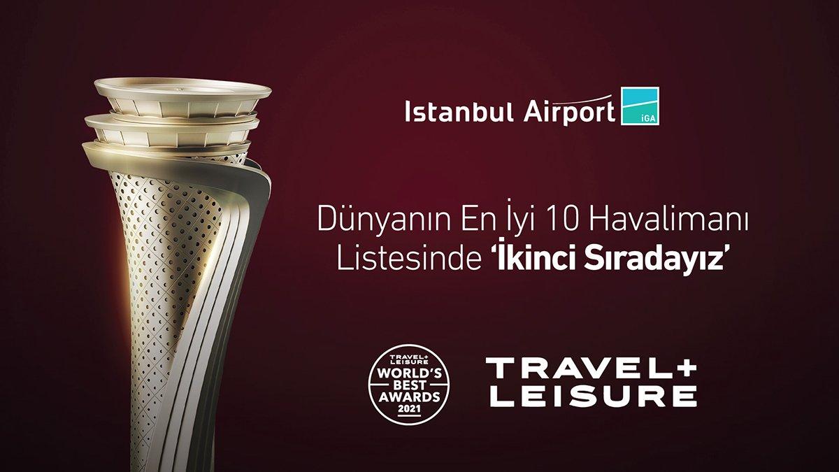 İstanbul Havalimanı 91.17 puanla ikinci seçildi