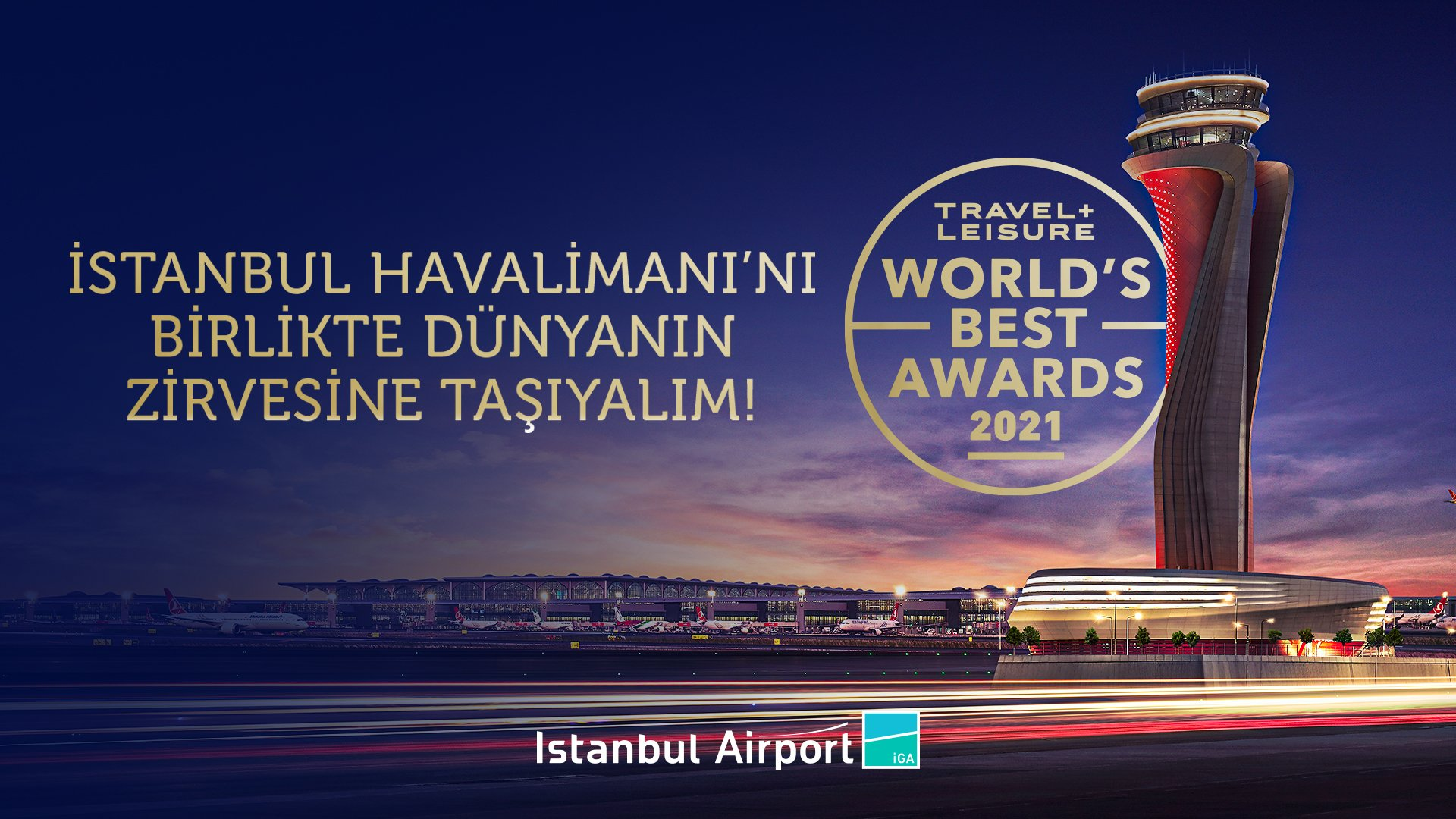 İstanbul Havalimanı dünyanın en iyi havalimanlarına aday oldu