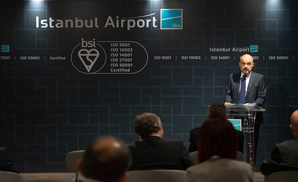 İstanbul Havalimanı'na 5 sertifika