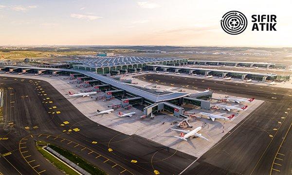 İstanbul Havalimanı'na 'Sıfır Atık' belgesi