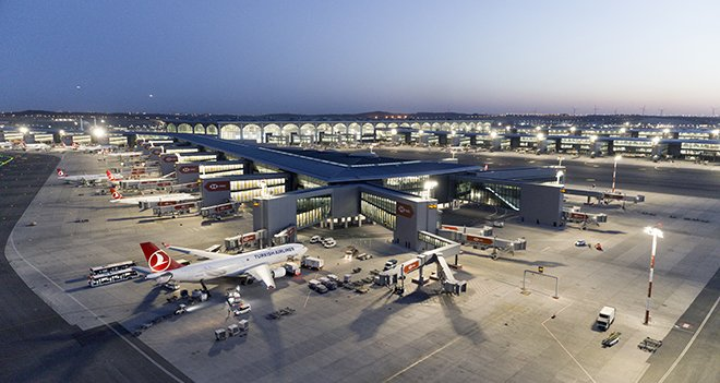 İstanbul Havalimanı'nda 7 ayda 257 bin 752 sefer yapıldı