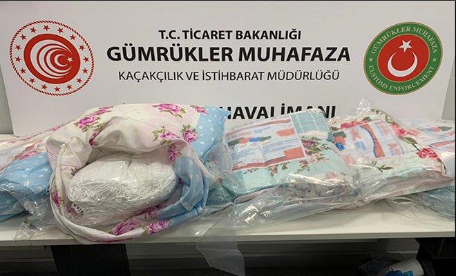 İstanbul Havalimanı'nda 87 bin 500 maske ele geçirildi