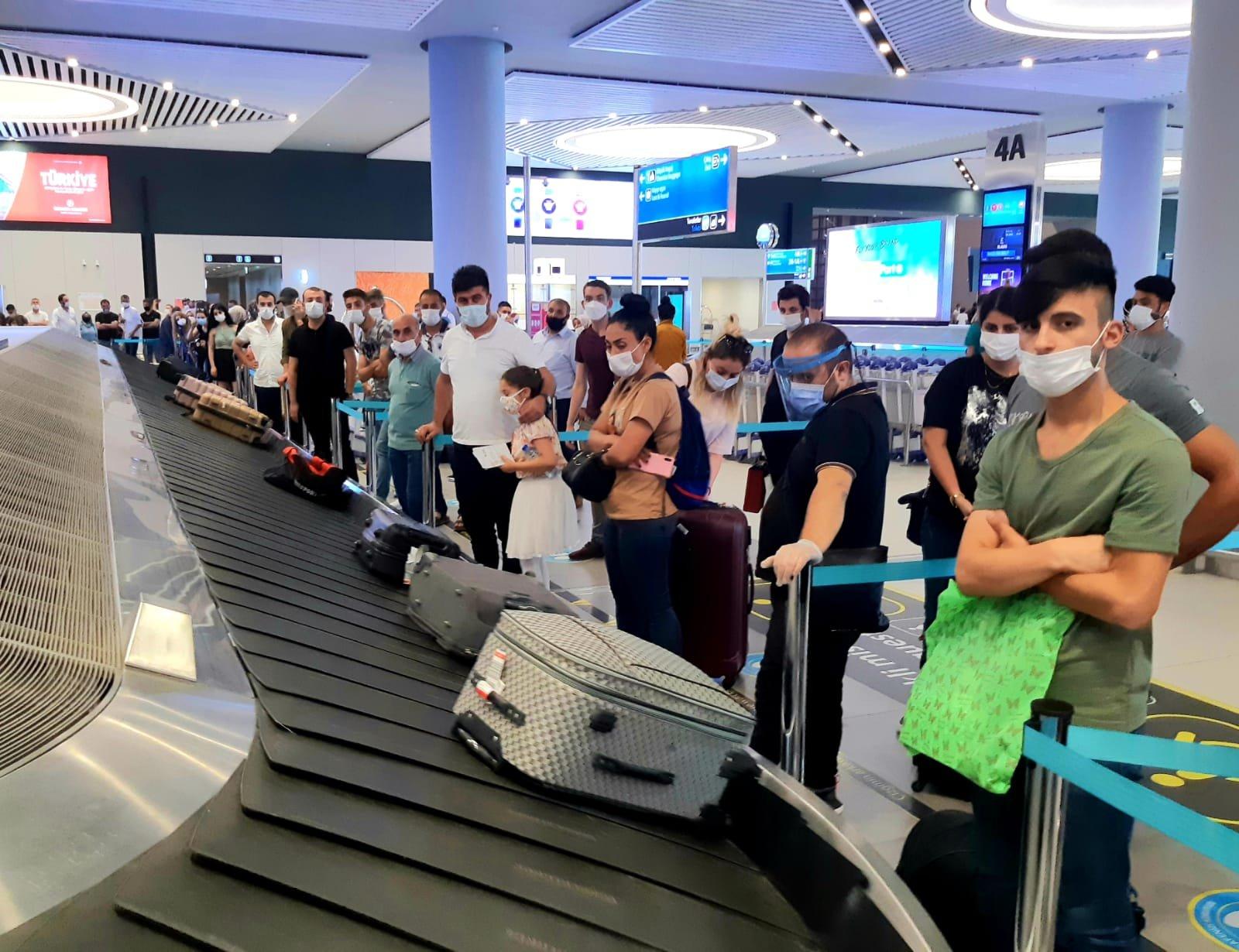 İstanbul Havalimanı'nda bayram tatili dönüşü