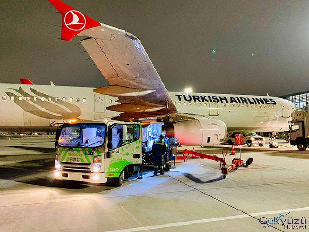 İstanbul Havalimanı'nda elektrikli araçlar kâra geçirdi!