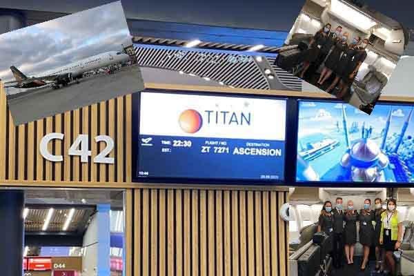 İstanbul Havalimanı'ndan Ascension Adası arasında ilk uçuş