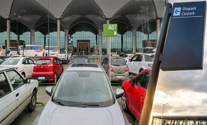 İstanbul Havalimanı otoparkında %50 ilave  %10 ek indirim