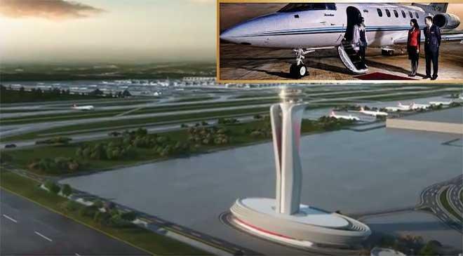 İstanbul Havalimanı'ndaki iş jeti tarifesi belli oldu!