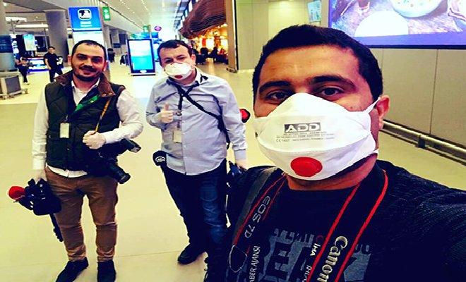İstanbul Havalimanları Muhabirleri Çalışıyor!