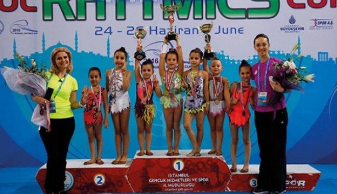 İstanbul Rhythmics Cup 2016 Sona Erdi