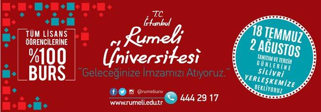 İstanbul Rumeli Üniversitesi Tanıtım Günleri başladı
