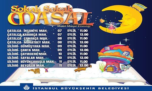 """İstanbul'da """"Sokak Sokak Masal"""" Anlatılacak"""