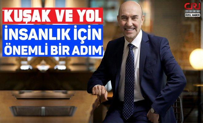 İzmir, Kuşak ve Yol'un liman merkezi olmaya talip