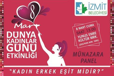 İzmit Belediyesi Kadın Erkek Eşit midir ?