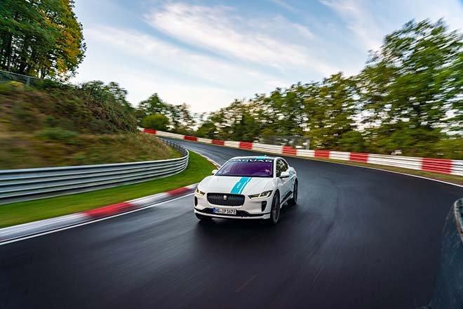 Jaguar I-PACE RACE eTAXI
