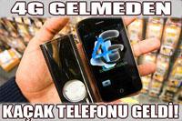 3G ve 4G kaçak telefonlar yakalandı