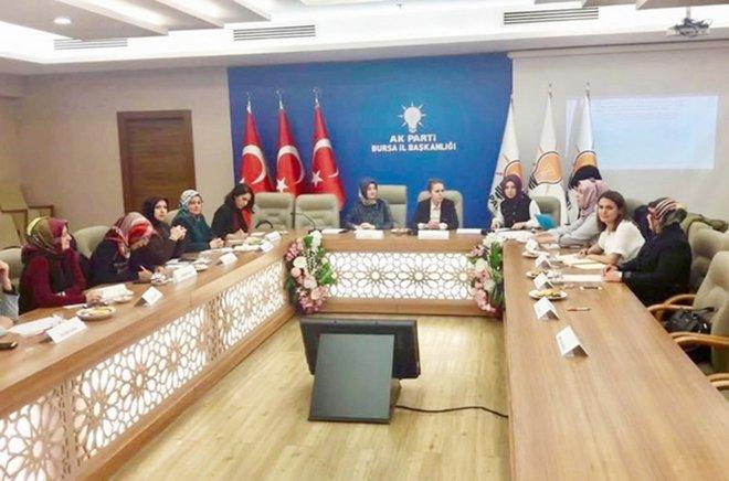 Kadınlar Bursa'yı konuştu