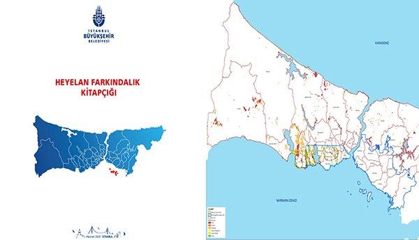 Kanal İstanbul güzergâhında 267 heyelan alanı tespit edildi.