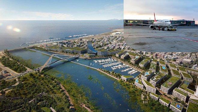 Kanal İstanbul, Havalimanı bölge planı onaylandı!