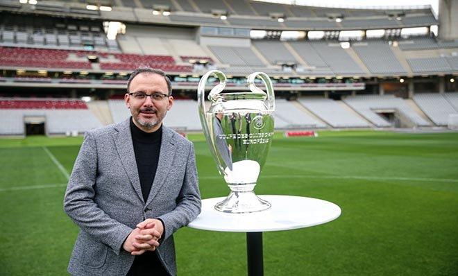 #Kasapoğlu: UEFA Şampiyonlar Ligi finaline hazırız(video)