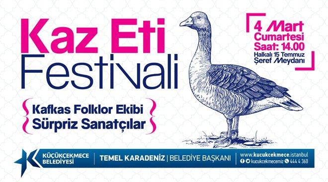 Kaz Eti Festivali İçin Geri Sayım Başladı