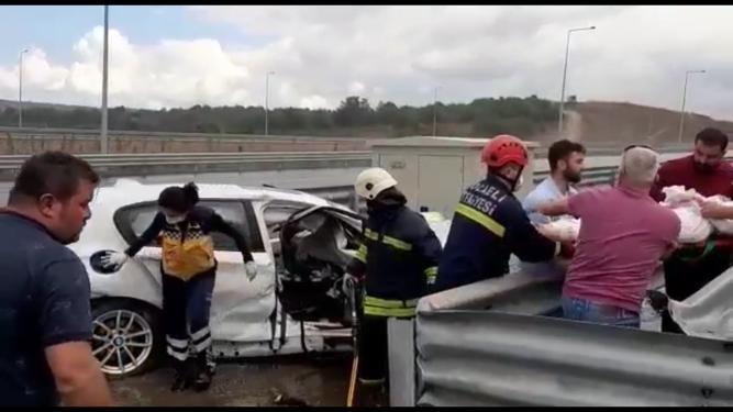 Kazada ölen Zeynep, balayından dönüyormuş #video