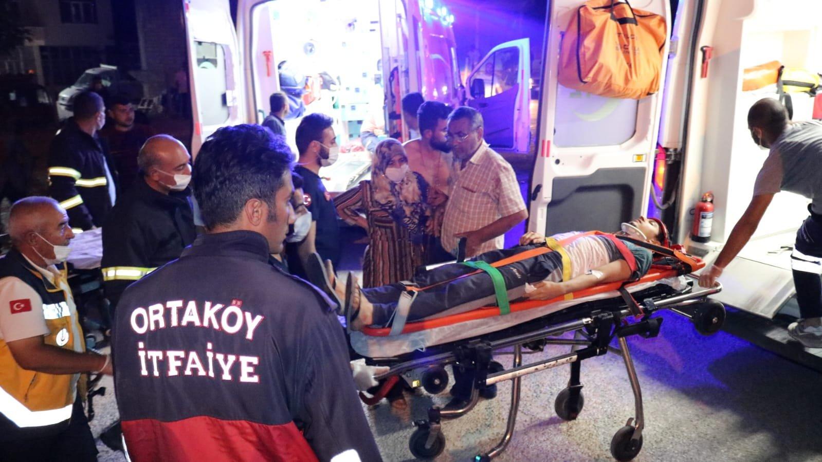 Kazada yaralanan anne: 'Çocuklarıma ne oldu ?