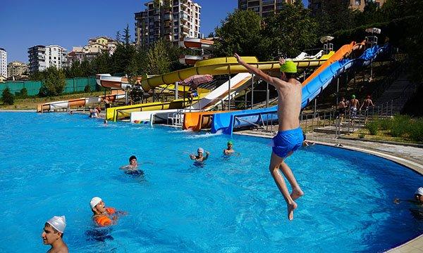 Keçiören'de önlemler alındı, AQUA parklar hizmete açıldı
