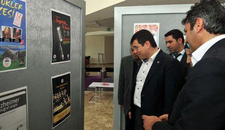 Kepez Belediyesi Afişleri adlı sergi açıldı