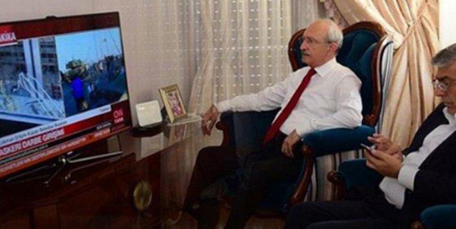 Kılıçdaroğlu 15 Temmuz'u Böyle İzlemiş!