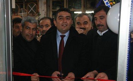 Kilis'te, Murat Usta Ocakbaşı Restoranı törenle açıldı.