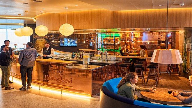 KLM'den Sınırların Ötesinde: Crown Lounge