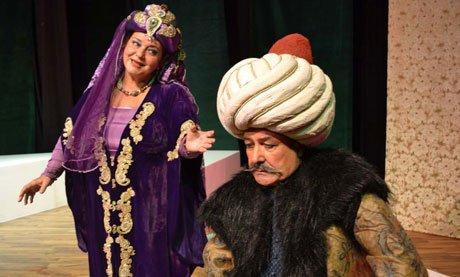 Koca Sinan tiyatro oyunu genç nesille tanışıyor