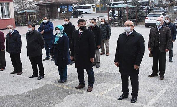 Konya'da okullardan İstiklal Marşı sesi yükseldi